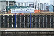 TQ1985 : Wembley Station by N Chadwick