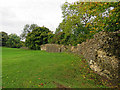 TQ1810 : Bramber Castle: curtain wall by John Sutton