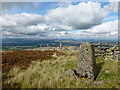 NN9408 : Trig point on Eastbow Hill by Alan O'Dowd
