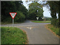 TG3130 : Old Hall Road junction with North Walsham Road by Hugh Venables