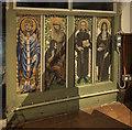 TQ1926 : St Andrew, Nuthurst - Screen by John Salmon
