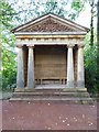 NS5320 : Wooden temple in the grounds of Dumfries House by Philip Halling