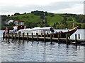 SD2992 : Pier on Coniston Water by Chris Allen