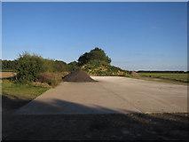 TG0826 : Hardstanding area near Wood Dalling by Hugh Venables