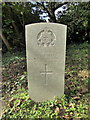TQ8713 : Commonwealth War Grave: T. A. Barnes by PAUL FARMER
