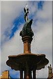 SJ8398 : Jubilee Fountain: Detail by Gerald England