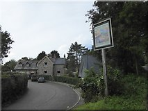 SX4563 : Bere Ferrers station and sign for Heritage Centre by David Smith
