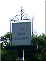 TF7022 : Sign for the Three Horseshoes public house, Roydon by JThomas