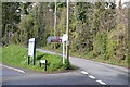 SX4563 : Sign to Bere Ferrers Station by N Chadwick