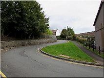 SS9993 : Bend in Bryn Ivor Street, Llwynypia by Jaggery