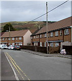 SS9993 : Two rows of houses, Bryn Ivor Street, Llwynypia by Jaggery