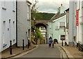 SX8060 : Castle Street, Totnes by Derek Harper