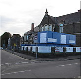 ST1775 : Ninian Park Primary School extension work, Cardiff by Jaggery