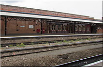 SO8555 : Grade II (star) listed Victorian waiting room on Worcester Shrub Hill station by Jaggery