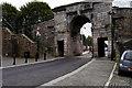 C4316 : Bishop's Gate, Derry City Walls by David Dixon
