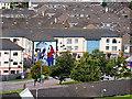 C4316 : Bogside Murals - Bernadette Devlin by David Dixon