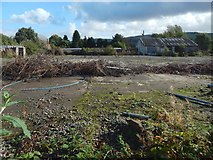 NS3980 : Waste ground by Lennox Street, Alexandria by Lairich Rig