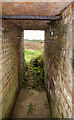 SJ2483 : WWII Cheshire: Defences of the Wirral, Heswall - Civil Bombing Decoy Control Bunker (7) by Mike Searle