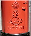 SJ8498 : Edward VII postbox (M4 418D) by Gerald England