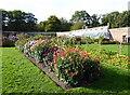 TQ6835 : Glasshouse in the Walled Garden, Scotney Castle by PAUL FARMER