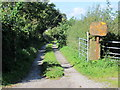 SJ3279 : Entrance to Hargrave Hall Farm by Jeff Buck