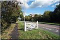 TQ0180 : Iver Village Sign by Des Blenkinsopp