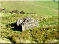 SK0383 : Abandoned winding gear on Chinley Churn by Graham Hogg