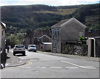 SS9892 : South side of North Terrace, Tonypandy by Jaggery