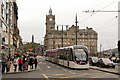 NT2573 : Tram on Princes Street by Alan Murray-Rust