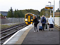 ND1167 : Catching the Inverness train at Thurso by John Lucas