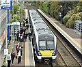 J3775 : Train, Sydenham, Belfast (October 2017) by Albert Bridge