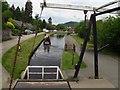 SJ2741 : Bascule bridge and footbridge below Froncysyllte (3) by Stephen Craven