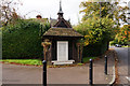 TL1638 : War Memorial, Church Street, Clifton by Ian S