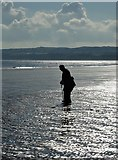 TA1280 : Old timer on Filey Sands by Neil Theasby