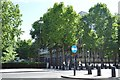 TQ2880 : American Embassy, Grosvenor Square by N Chadwick