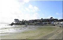 SH5637 : The bay at Borth y Gest by Gordon Hatton
