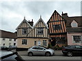 TL9149 : Crooked House, High Street, Lavenham by PAUL FARMER