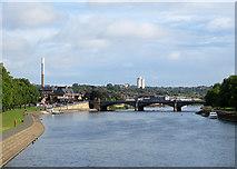 SK5838 : Towards Trent Bridge by John Sutton