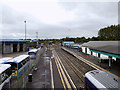 C8532 : Coleraine Railway Station and Ulsterbus Depot by David Dixon