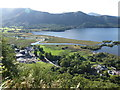 NY2618 : River Derwent and Derwent Water from Surprise View by Chris Allen