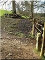 SX7873 : Gate on Dartmoor Way by Derek Harper