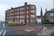 NS2059 : Tenements, Sandringham, Largs by Richard Sutcliffe