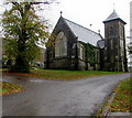 ST0191 : Trealaw Cemetery Chapel    by Jaggery