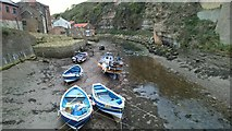 NZ7818 : Staithes Beck by Chris Morgan