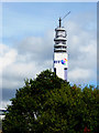 SP0687 : The Post Office Tower in Birmingham by Roger  Kidd