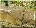 NT2775 : Bench mark, 85 Duke Street, Leith by Alan Murray-Rust