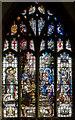 TF4250 : Stained glass window, SS Mary & Nicholas church, Wrangle by Julian P Guffogg