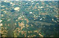 TM3049 : Area around Woodbridge from air, 2001 by Derek Harper