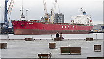 J3576 : The 'N Amalthia' at Belfast by Rossographer