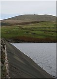 SC3988 : Snaefell from Sulby Reservoir by James T M Towill